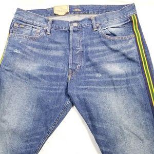 Polo Ralph Lauren Varick Slim Straight Blue Jeans